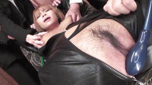 Sumire Matsu gets vibrator through latex