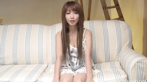 Petite Asian chick nailed hard in her tiny snutch