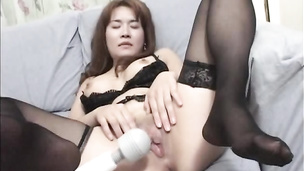 Busty hot milf toy masturbation and hardcore anal fucking with cum on face