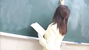 Hot big boob teacher gangbang facial cumshot Misawa Kinu