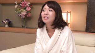 Busty Wakaba Onoue enjoys creampie asian sex