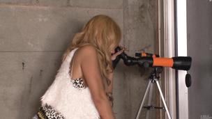 Runa Anzai pleasing with japanese blow jobs