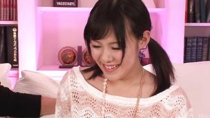Miyuki Nonomura gives top asian blowjob before fucking
