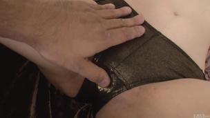 Nonoka Kaede gives amazing Japanese blowjob on cam