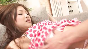 Super sexy clip with Suzuka Ishikawa cock bouncing
