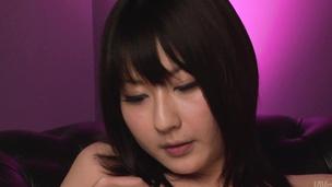 Teen asian dildo sex has Megumi Haruka cumming loud