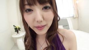 Asian creampie for lusty girl Rei Furuse
