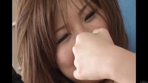 Konatsu Aozona is fingered from behind