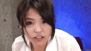 Eririka Katagiri gives an amazing asian blowjob in POV