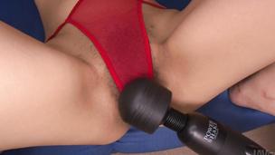 Satomi Ichihara made to cum in an asian bondage sex video