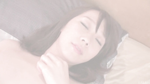 Rough creampie Asian fuck for lusty Hitomi Oki
