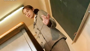 Wild sexy milf teacher and students ed and fucked in every possible way