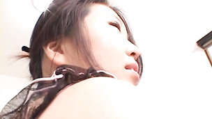 Hot Japanese mature craving for some meaty and hard dong to lure