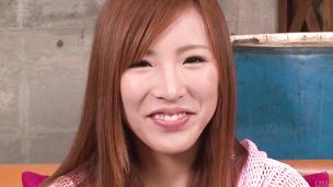 Hot asian amateur Yuika Akimoto fucked with a vibrator