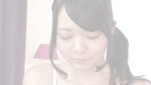 Asian blowjob by skinny Hikaru Morikawa