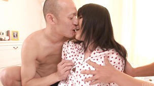 Sena Sakura has an asian blow job and a pussy to give all of them