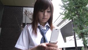 A japan blow job from Miku Airi earns her a hard fuck