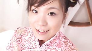 Chinese dress cosplay fucking Mayu Yamaguchi