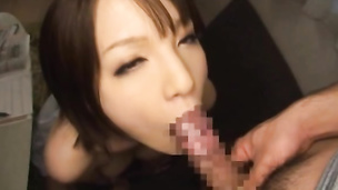 Cute office girl gets punished for sleeping on the job