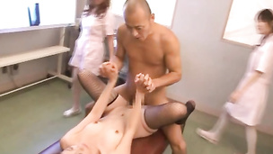 Needy young Asian cutie leaves random guy to cum on her face