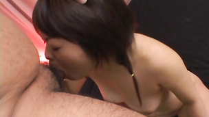 Mesmerizing asian girlie Nao is always ready for some interesting ramming
