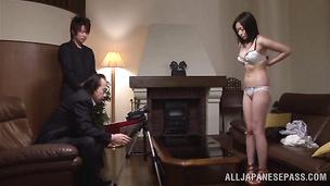 Passionate Ari Ariga takes a hard rod