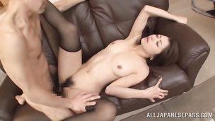 Idol Maki Hokujo is staggering and ready to satisfies her playmate