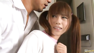 Shameless oriental Rina Rukawa is eager to experience her fuck today