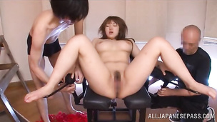 Salacious Shiori Kamisaki yearns for one giant shlong