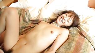 Enchanting idol Mai Satsuki yearns for meaty bazooka to please her