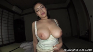Admirable exotic woman Conomi and she adores the way she's drilled deep