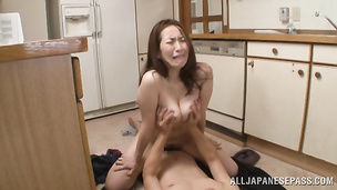 Super hot couple male and fresh idol Aoi Aoyama are way too aroused now