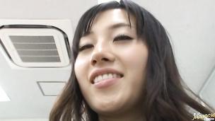 Tasty asian bombshell Azusa Nagasawa and her boyfriend are making wild hardcore