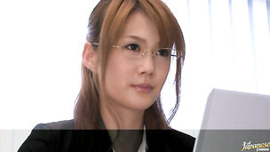 Cute japanese Erika Kirihara is always ready for some very intense pounding