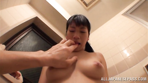 Mischievous darling has perfect tits and loves to fuck