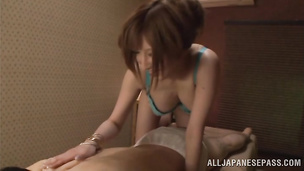 Lovely Reira Akane is in a mood for wild fucking