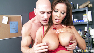 This fellow just can't resist this ambitious exotic Kianna Dior juicy round ass