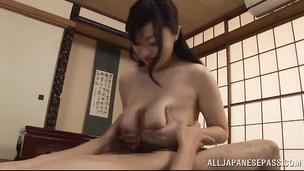 Marvelous asian Miyuki Matsushita has hardcore sex with stranger