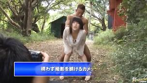 Enchanting Kyoka Mizusawa receives a strong stick in her juicy nana